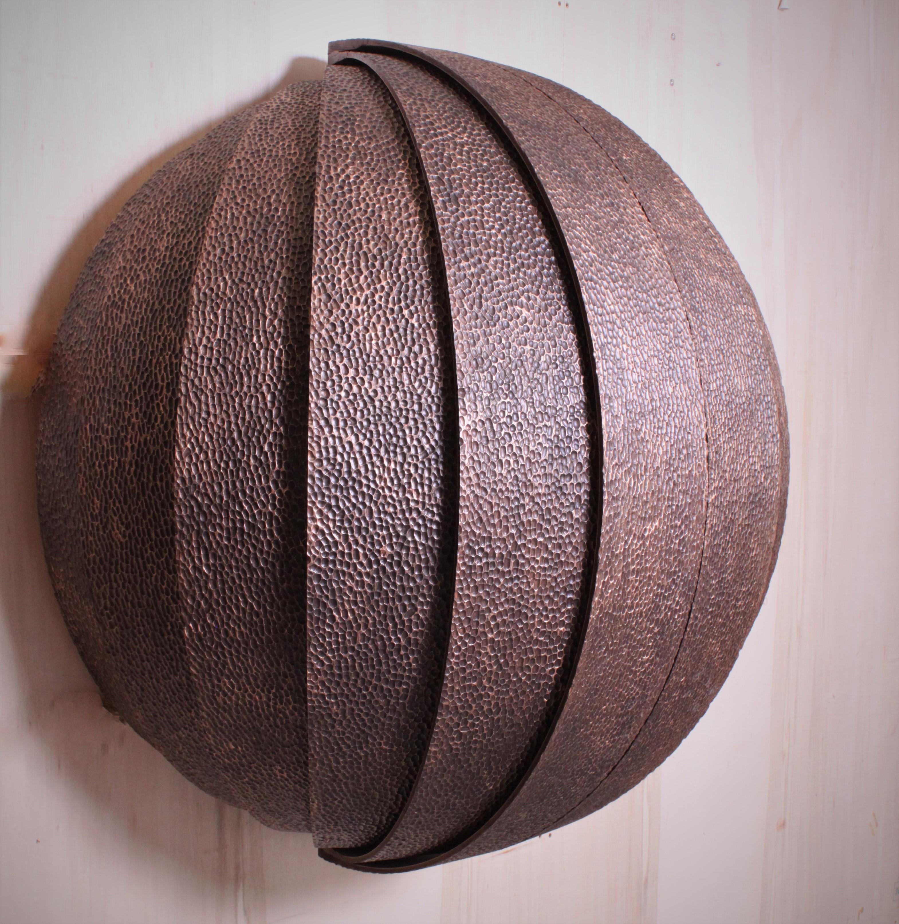 Hand made custom desk in walnut veneer by Splinterworks.