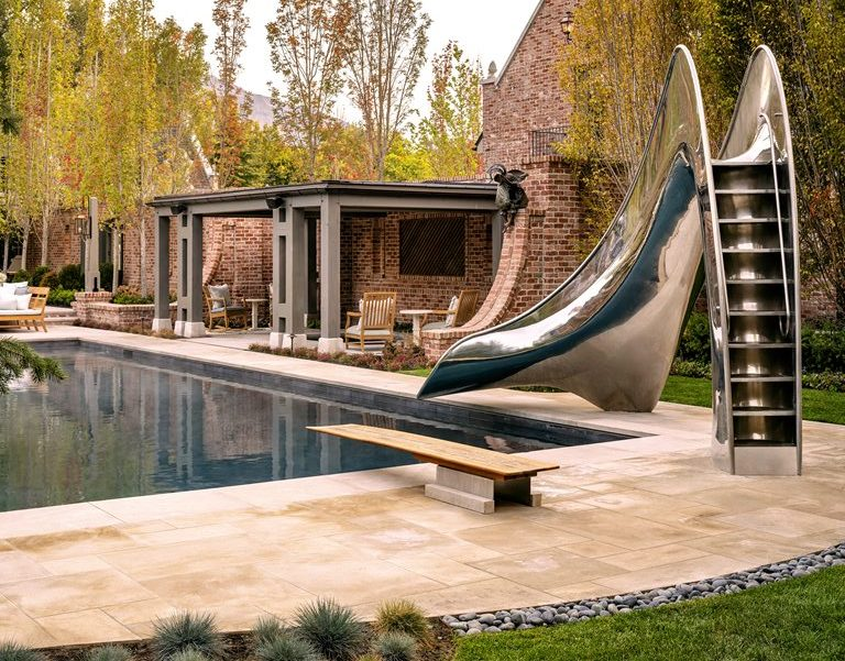 Vertex, custom pool slide by Splinterworks